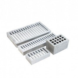 aluminium kopstenen voegventilatie