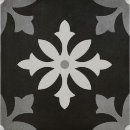 keramische patroontegel pamesa art degas negro decors