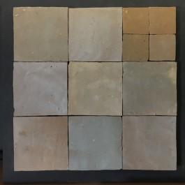 Zelliges Beige Gris 10x10cm m²