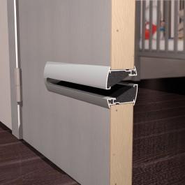 akoestisch deurrooster alu renson
