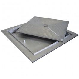 aluminium deksel 60x60