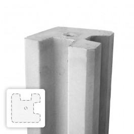 betonnen paal voor in de hoek