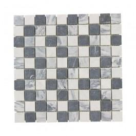 mosaico solo keramische tegels carrara mix