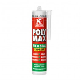 Griffon Poly Max Crystal Clear Montagelijm 300g Transparant