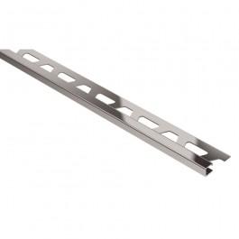 Schluter Quadec-E Q125EB 12.5mm L2,5m Inox Geborsteld