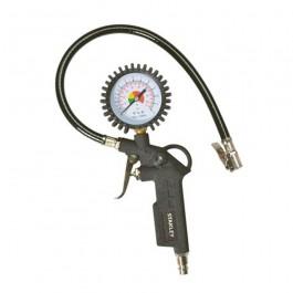 compressor pistool met drukmeter