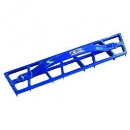 Hoekschaaf blauw 500x85