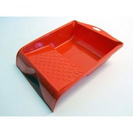 Verfbak kunststof 15,5x30cm rood