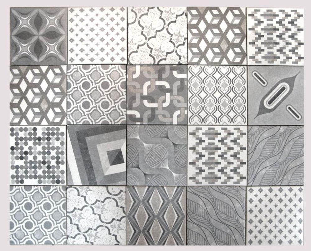 Natucer Concret Europe Mix 18x18 per m²