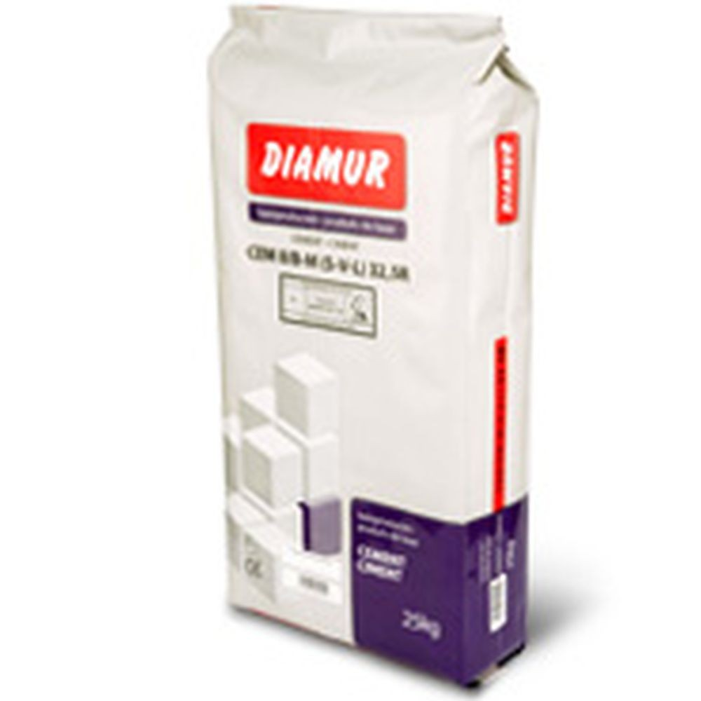 Cement CEM II/B-M (S-V-L) 32,5R 25kg