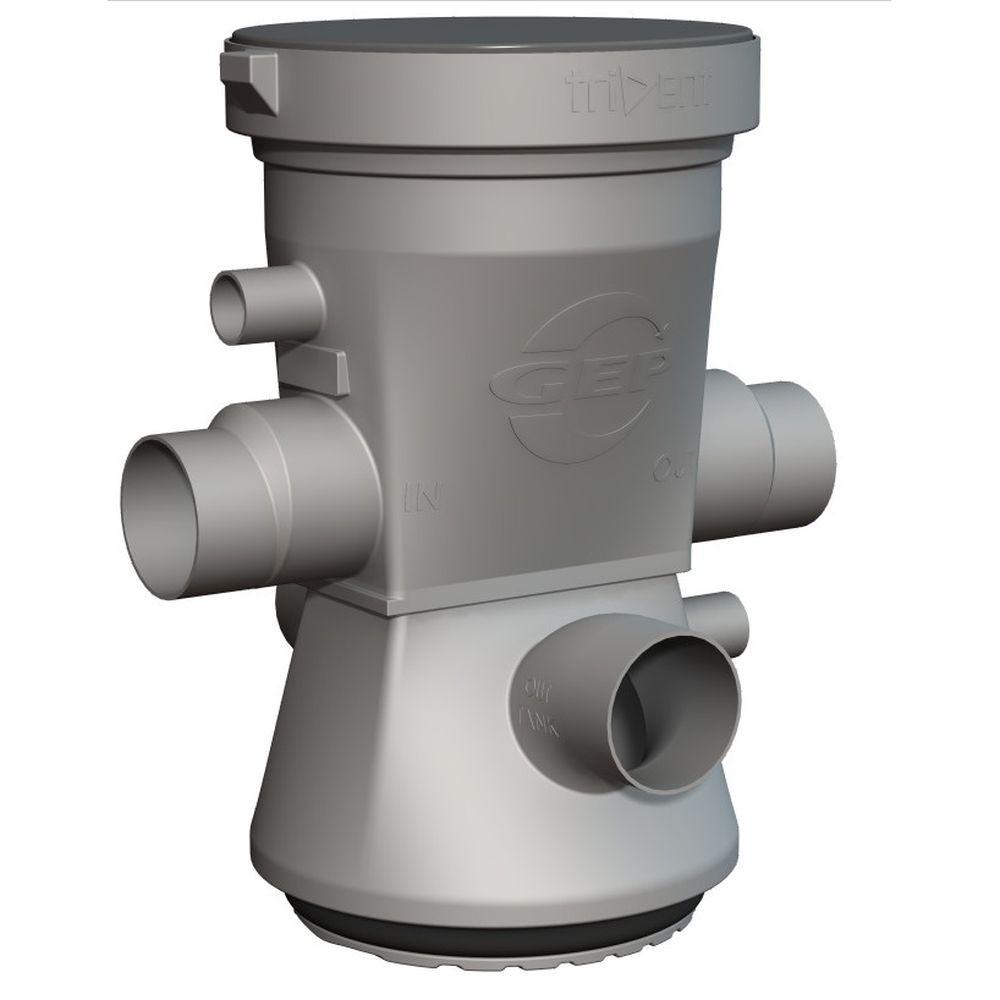 GEP trident 325m² dakoppervlak filter