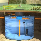 Slim Rain regenwater recuperatiepakket tuin + DS 7500l