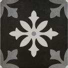 Pamesa Art Degas Negro Decors 22.3x22.3cm per m²
