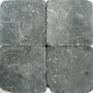 Betonklinker Damme grijs-zwart getrommeld 15x15x6