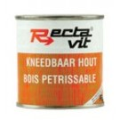 Rectavit kneedbaar hout naturel 250ml