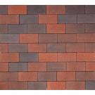 Redsun Betonklinkers Rood-Zwart 21x10,5x8cm