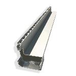 Alu Side-Drain H13cm L1m