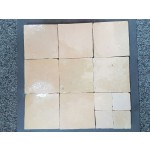 Zelliges Beige Sable 10x10cm m²