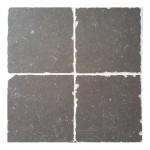 Belgium Stone Black Thumbled 20x20 per m²