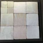Zelliges Blanc Gris 10x10cm m²