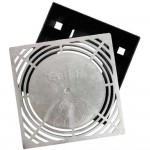 CellR Kelderventilatierooster aluminium 24x24cm
