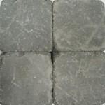 Betonklinker damme grijs getrommeld 15x15x6