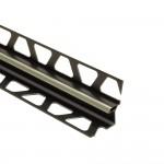 Schluter Dilex-EKE U8/O7 PG80 2500mm Pastelgrijs