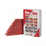 Flexim dakmortel rood 10st
