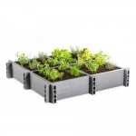 "Eco-Oh! Moestuinbak ""Garden Box"" 120x120x22cm"