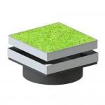 Varitank Dekselset vierkant grasdeksel 403418