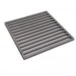 Staven Rooster Aluminium 25x25cm