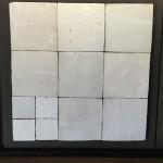 Zelliges Blanc Blanc 10x10cm m²