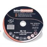 Interdiamant ID10 roestvrij staal dia 115