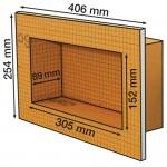 Schluter Kerdi Board-N 305 x 152 x 89 mm