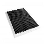 Nidagravel 139+ grindstabilisatieplaat zwart 120 x 80 x 4 cm