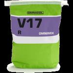 Omnicol Omnimix V17R grijs 25 KG