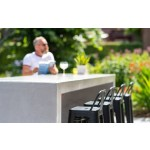 Patio Table Smooth 300x100x107