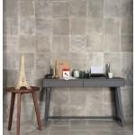 Provenza dust grey decor veil nat. rett. 30x30 m²