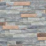 Stoneface Copper 44.5x8 steenstrips doos 24st
