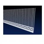 Stopprofiel PVC 6mm met maas 2.5m