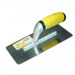 Plakspaan inox afgerond 240x110 (lxb)