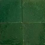 Zelliges Vert Bouteille 10x10cm m²