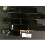 Zelliges Noir 5x15cm m²
