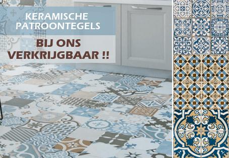 keramische patroon tegels online bestellen