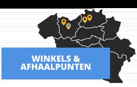 Bezoek de winkels en afhaalpunten van Bouwkampioen in België en Nederland