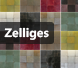 Zelliges: Herkomst en plaatsing